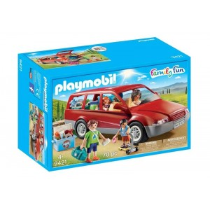 Playmobil Family Fun Coche Famliar