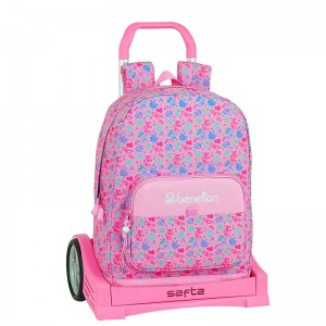 MOCHILA + CARRO EVOLUTION BENETTON BUTTERFLIES