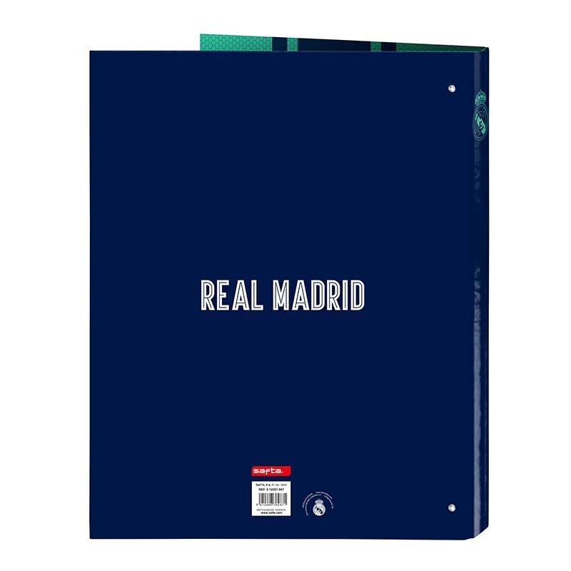 CARPETA ARCHIVADOR REAL MADRID 3ª EQUIP.
