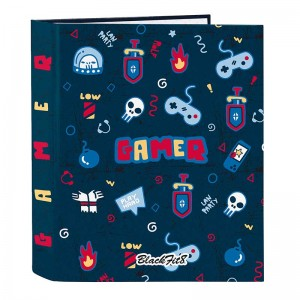 CARPETA ARCHIVADOR LOMO ANCHO BLACKFIT8 GAMING
