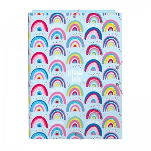 CARPETA GLOWLAB RAINBOW