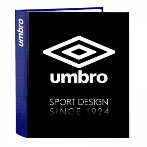 CARPETA ARCHIVADOR UMBRO BLACK & BLUE