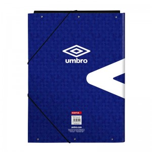 CARPETA UMBRO BLACK & BLUE