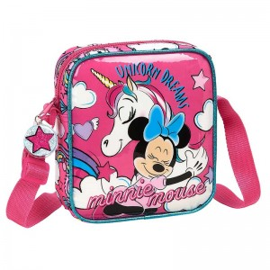 BOLSITO BANDOLERA MINNIE MOUSE UNICORNS