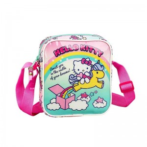 BOLSITO BANDOLERA HELLO KITTY CANDY UNICORNS