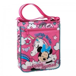 BOLSO BANDOLERA MINNIE MOUSE UNICORNS