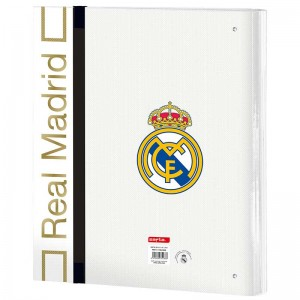 CARPETA 4 ANILLAS 30MM REAL MADRID 1ª EQUIPO