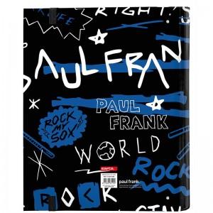 CARPETA 4 ANILLAS 30MM PAUL FRANK ROCK N´ROLL