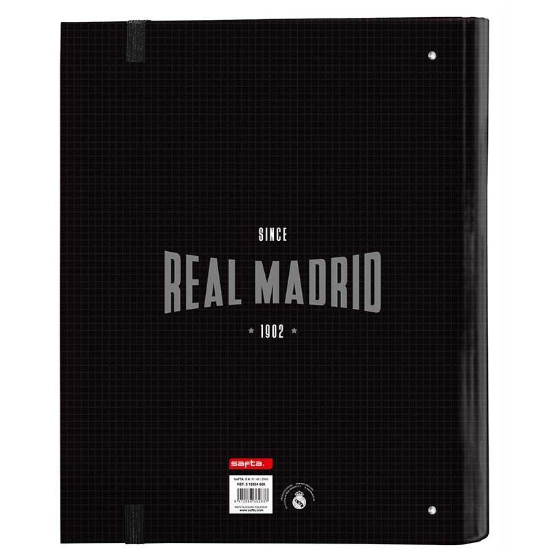 CARPETA 4 ANILLAS 30MM REAL MADRID 19/20