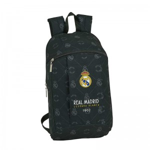 MINI MOCHILA REAL MADRID NEGRA