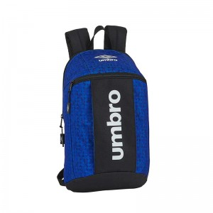 MINI MOCHILA UMBRO BLACK & BLUE