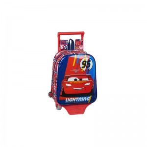 MOCHILA CON CARRO CARS RACING BLOCK