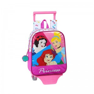 MOCHILA CON CARRO PRINCESS BE BRIGHT