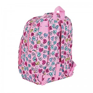 MOCHILA ADAPTABLE SAFTA SWEET HEART PINK