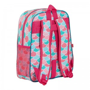 MOCHILA JUNIOR ADAPTABLE CARRO GLOWLAB KIDS SIRENA