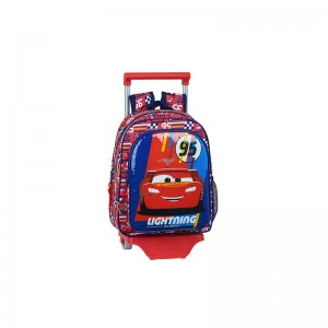 MOCHILA ESCOLAR CON CARRO CARS RACING BLOCK