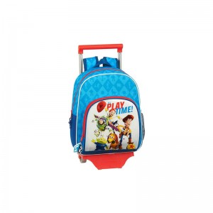 MOCHILA ESCOLAR CON CARRO TOY STORY PLAY TIME