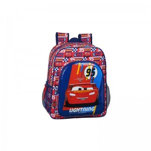 MOCHILA JUNIOR ADAPTABLE CARRO CARS RACING BLOCK