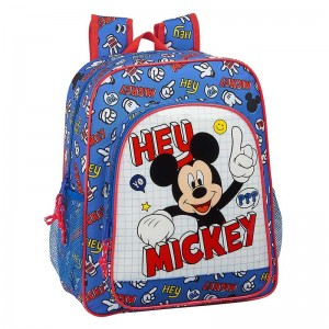 MOCHILA JUNIOR ADAPTABLE MICKEY MOUSE THINGS