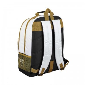 MOCHILA DOBLE ADAPTABLE CARRO REAL MADRID 1ª EQUIP.