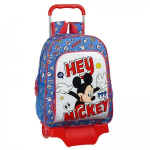 MOCHILA Y CARRO MICKEY MOUSE THINGS