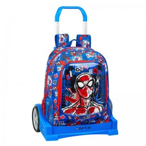 MOCHILA Y CARRO EVOLUTION SPIDER-MAN PERSPECTIVE