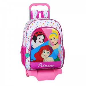 "MOCHILA Y CARRO PRINCESS ""BE BRIGHT"""