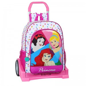 "MOCHILA Y CARRO EVOLUTION PRINCESS ""BE BRIGHT"""