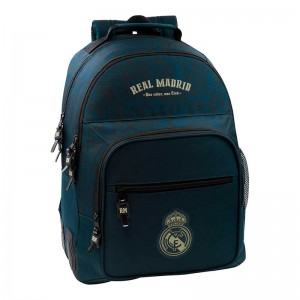 MOCHILA DOBLE ADAPTABLE CARRO REAL MADRID 2ª EQUIP