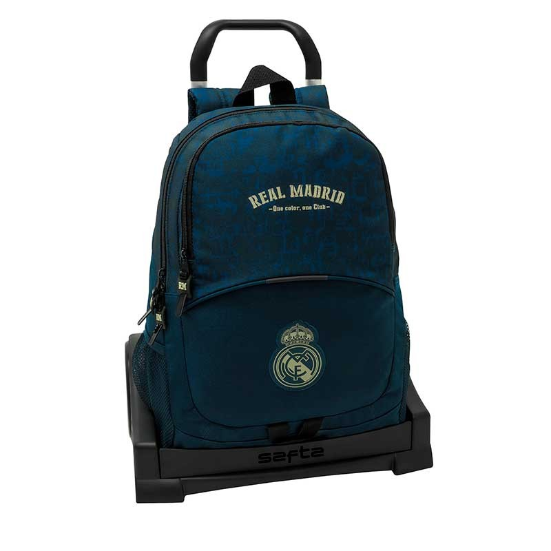 MOCHILA + CARRO EVOLUTION REAL MADRID 2ª EQUIP.