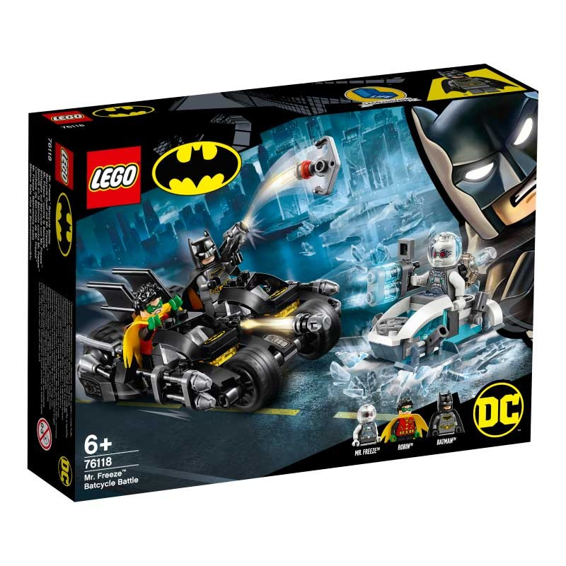 LEGO Batalla en la Batmoto contra Mr. Freeze