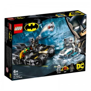LEGO Batalla en la Batmoto contra Mr. Freeze