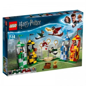 LEGO Harry Potter Partido de Quidditch
