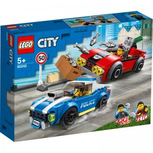 LEGO City Police Policía: Arresto en la Autopista