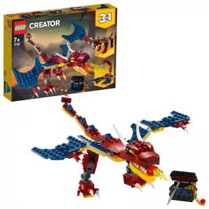 LEGO LEGO Creator Dragón Llameante