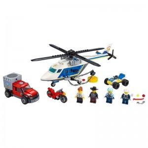 LEGO City Police Policía: Persecución en Helicópte