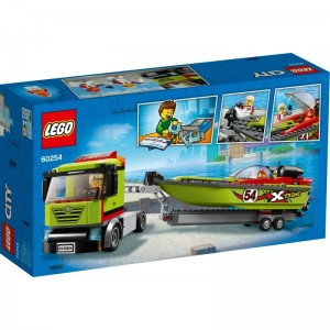LEGO City Great Vehicles Transporte de la Lancha d