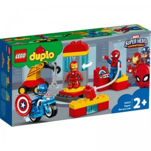 LEGO DUPLO Super Heroes Laboratorio de Superhéroes