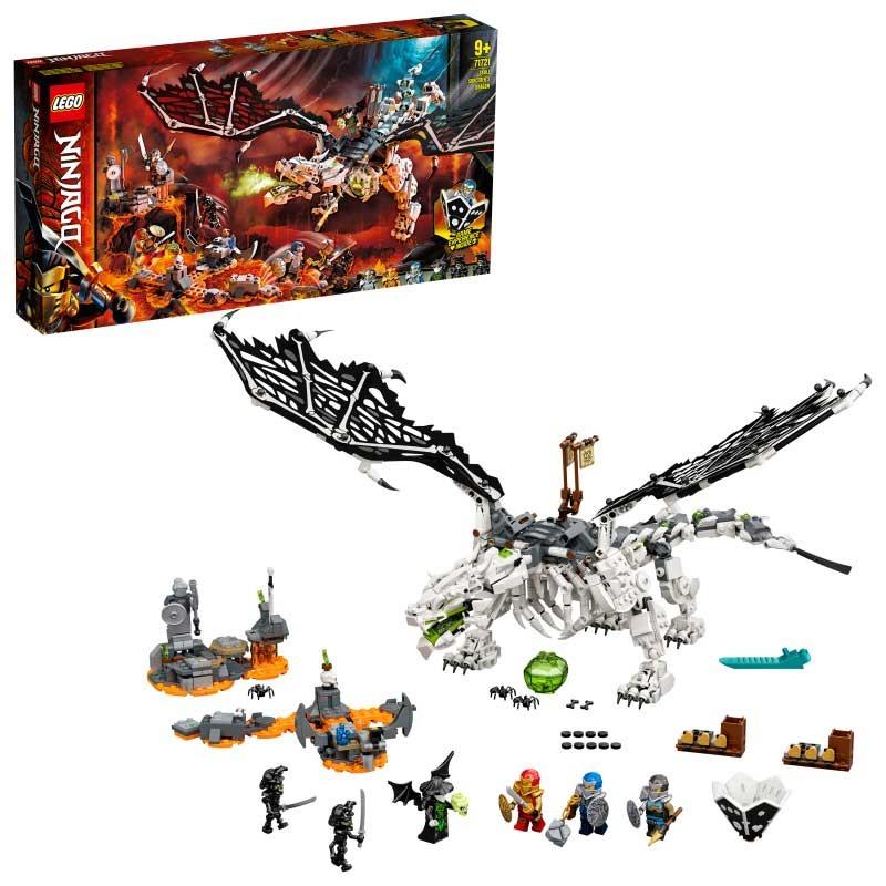 LEGO Ninjago Dragón del Brujo de los Muertos