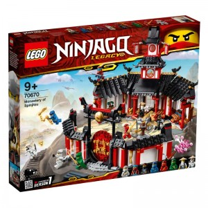 LEGO Ninjago Monasterio del Spinjitzu