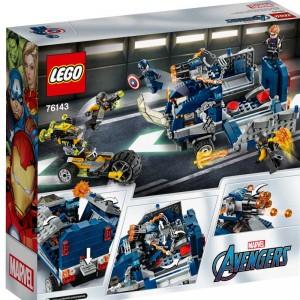 LEGO Super Heroes los Vengadores y el Derribo del Camión