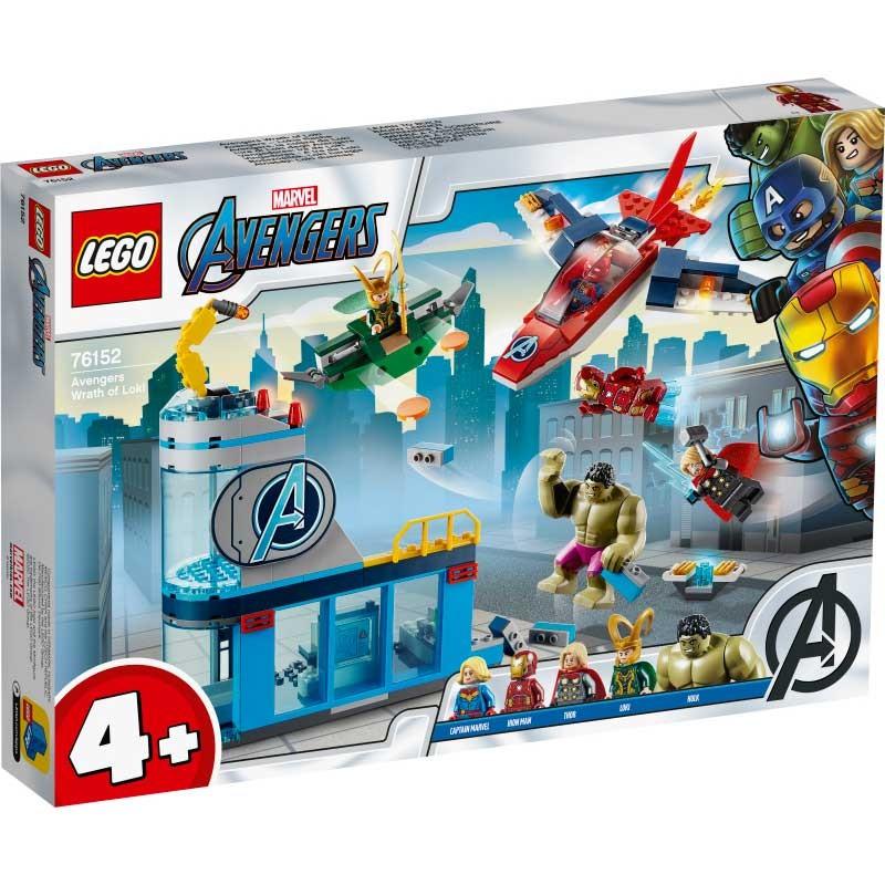 LEGO Super Heroes Los Vengadores y la Ira de Loki