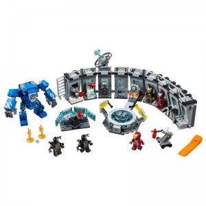 LEGO Super Heroes Sala de Armaduras Iron Man