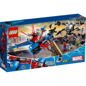 LEGO Super Heroes Jet Arácnido vs. Armadura Robótica Venom