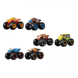 Hot Wheels Duetos De Demolición Vehículos Monster Truck