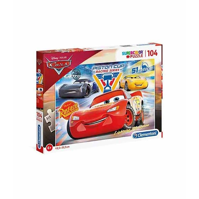 Puzzle 104 Piezas Disney Cars Piston Cup Legends