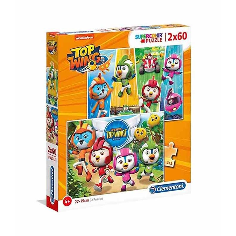Puzzle 2x60 Top Wing