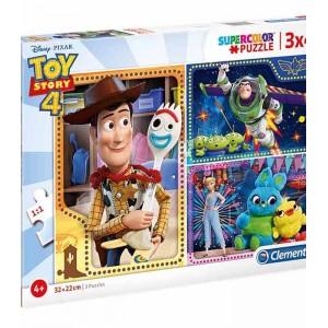 Puzzle 3x48 Piezas Disney Toy Story 4
