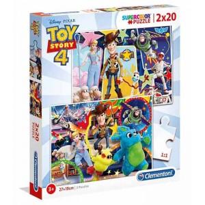 Puzzle 2x20 Piezas Disney Toy Story 4
