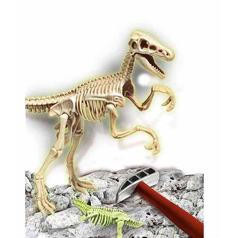 Arqueojugando Velociraptor Fosforescente